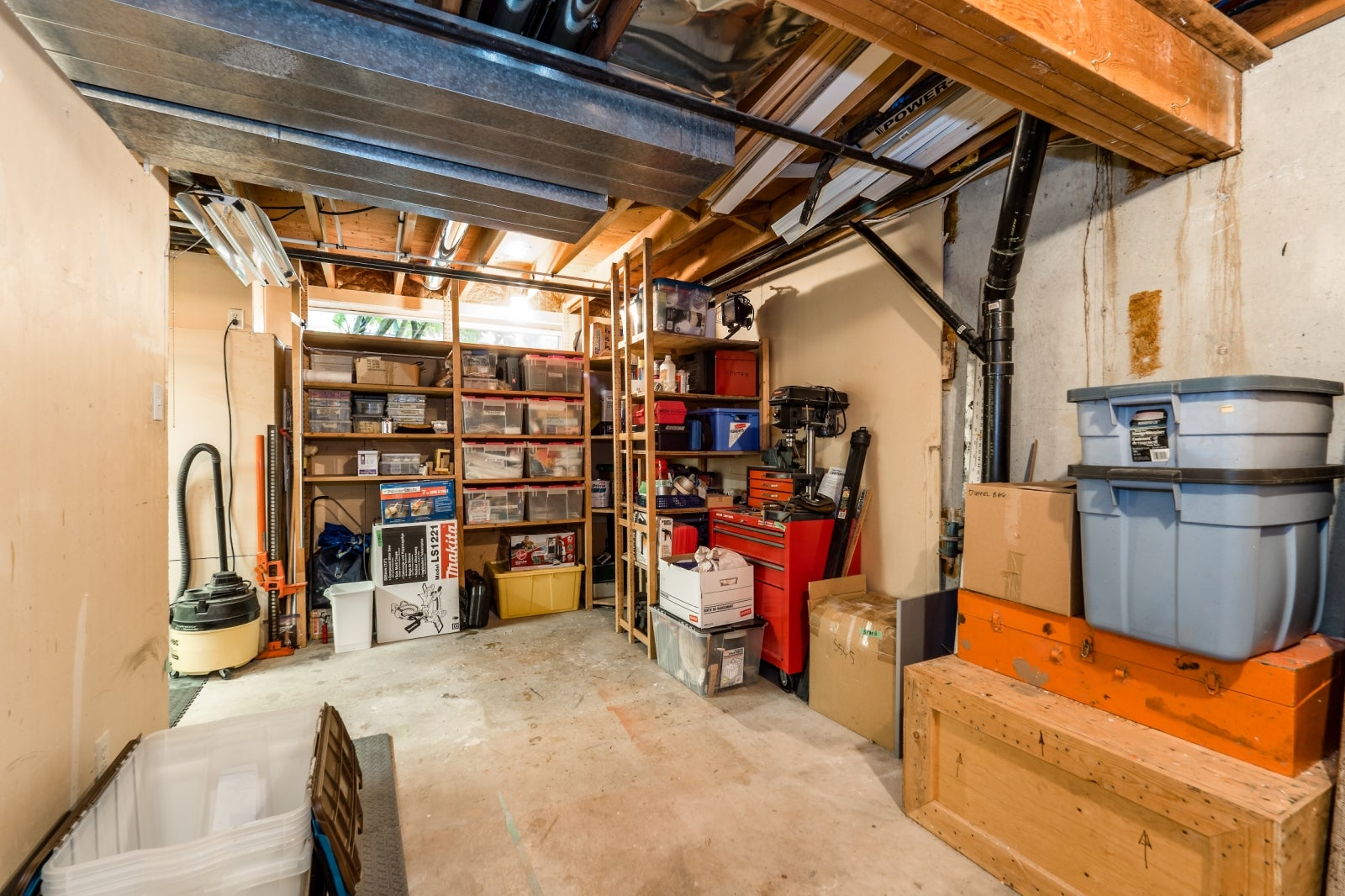 Storage Room/Work Shop